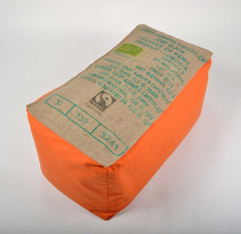 Banquettes pouf-orange-Lilokawa on